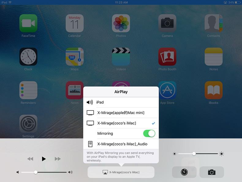 Record iOS 9 iPhone/iPad Screen with X-Mirage